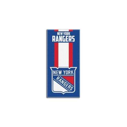 Officially Licensed NHL New York Rangers Zone Read Beach Towel, 30