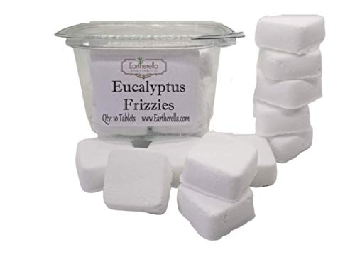 Eucalyptus Mini Shower Bombs FRIZZIES Shower Steamers essential oil, all natural