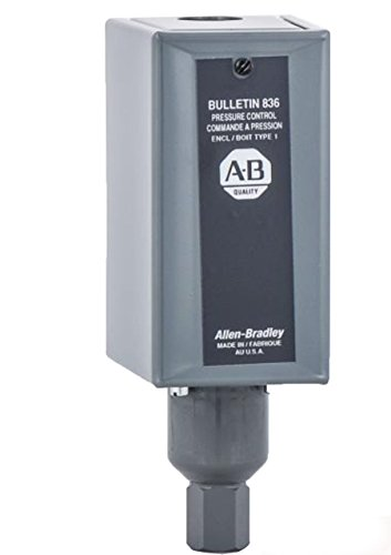 NEW ALLEN BRADLEY 836-C7A PRESSURE CONTROL 4-150PSI SWITCH 125V-AC B253946 Allen Bradley Control