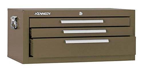 Kennedy Manufacturing 2603B 3-Drawer Mechanic's Chest Base with Friction Slides, 26