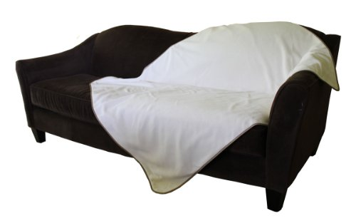 Mambe 100% Waterproof Pet Blanket (Medium 48''x 58'', Buff) by Mambe