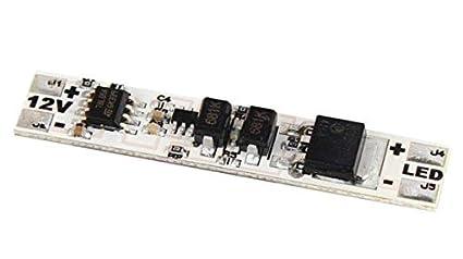 Schema Elettrico Per Accensione Led : Switch interruttore a sfioramento on off v per profili