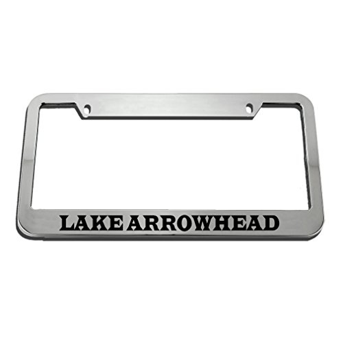 Speedy Pros Lake Arrowhead License Plate Frame Tag Holder by Speedy Pros