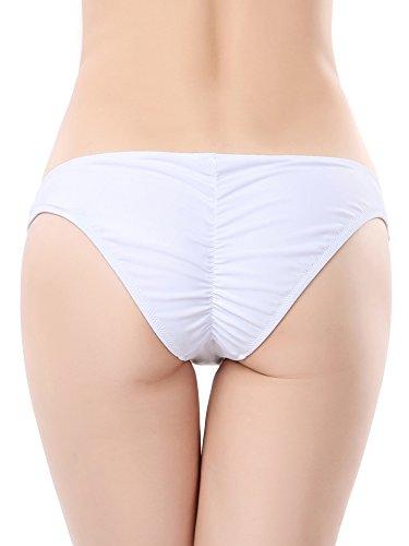 Ruched Bikini Bottom - 6