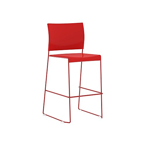 Safco Products 4273RR Currant Chair, Red