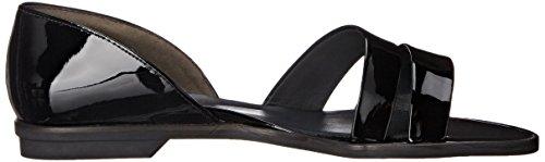 Paul Green Mujeres Wynn Slide Sandal Black Patent