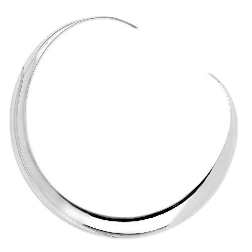 15mm Polished Sterling Silver