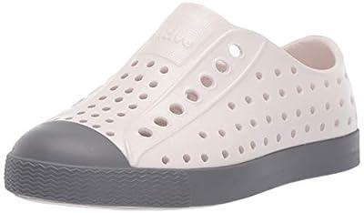 Native Kids Shoes Unisex Jefferson (Little Kid/Big Kid) Cloud Grey/Dublin Grey 3 M US Little Kid