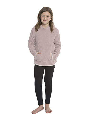 Barefoot Dreams CozyChic Youth Pullover Casual Hoodie, Soft Polyester