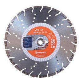 Husqvarna 14'' X .125'' X 1'' Vari-Cut Diamond Metal Saw Blade, General Purpose (For Use With Power Cutter)