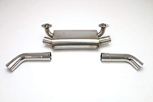 Billy Boat Exhaust - BILLY BOAT EXHAUST MUFFLER TWIN OUTLET with 3