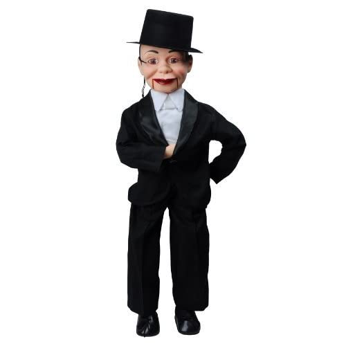 Charlie McCarthy Ventriloquist Doll Dummy Most Famous Celebrity Radio Puppet