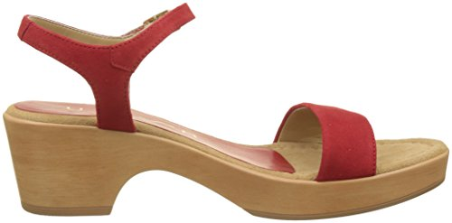 red Irita Mujer Con Rojo Pulsera Para ks Sandalia 18 Unisa CzAxwqOq