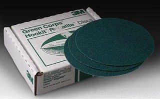 (3M(TM) Stikit(TM) Cloth Disc 202DZ, 5 in x NH P150 J-weight, 50 per inner)