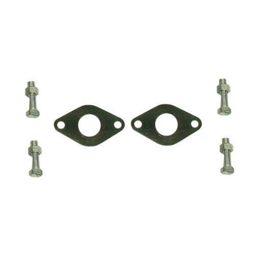 Grundfos 96806132 Pump Flange, 1 1/4'' NPT Isolation Set - Bronze
