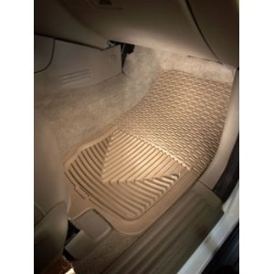 WeatherTech Trim to Fit Front Rubber Mats (Grey) (Weathertech Floor Mat For Fx35 compare prices)