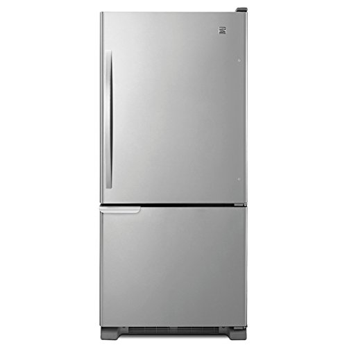Kenmore 69313 19 cu. ft. Refrigerator with Swing Freezer Door/Humidity Controlled Crispers, Stainless Steel