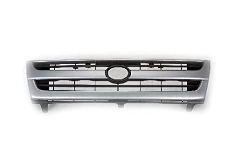 fbea72cfd78d4 Amazon.com: Toyota Tacoma Truck 97-00 Front Grille Car Black/Silver ...