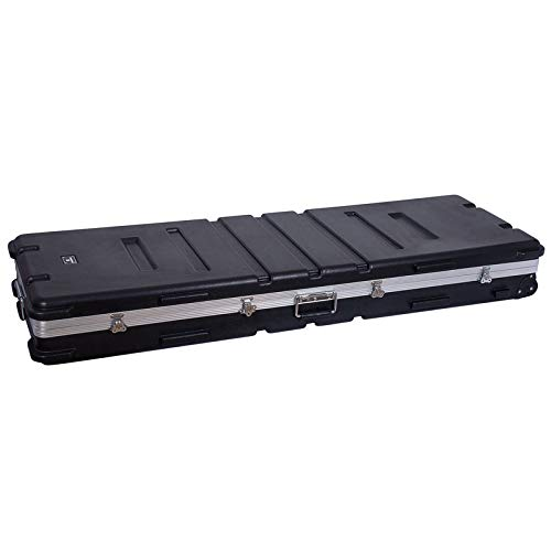 Crossrock keyboard case, PE Injection hardcase for 88/76 notes keyboard (CRA988KBK)