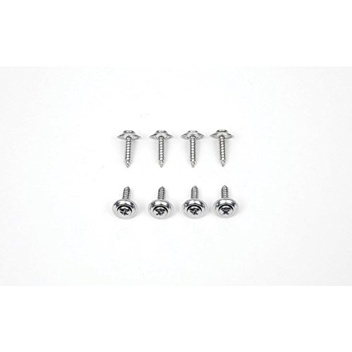 Eckler's Premier Quality Products 75259272 Firebird Armrest & Side Well Cover Screw Kit Rear ()