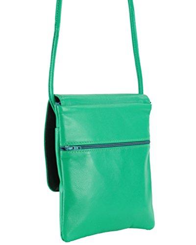 PO156034 Femme vert Vert L histoireDaccessoires Pochette Adelaide Cuir R8w4nqO