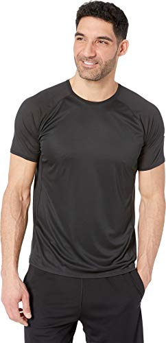 Brooks Men's Stealth Short Sleeve Top Black Medium