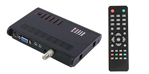 Universal Analog RF Coax CATV Tuner + Composite Video to VGA Converter Switcher