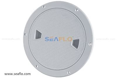 """SEAFLO 8"""" Boat Round Deck Inspection Access Hatch With Detachable Cover 250mm"""