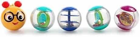 Baby Einstein Roller-pillar Activity Balls Toy, Ages 3 months +