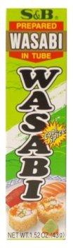 S&B - Wasabi in Plastic Tube 1.52 Oz.