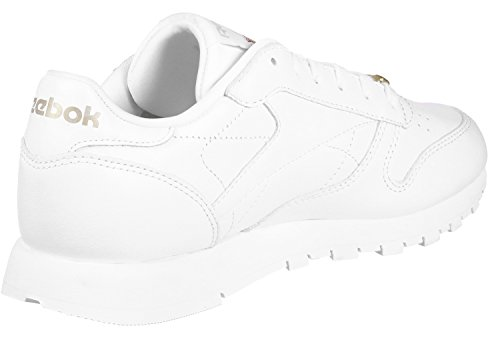 Reebok Classic Leather Hardware, Baskets Femme Blanc (White/rose Gold)