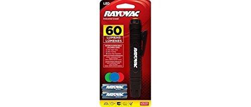 Rayovac LED Pen Light - 60 lumens -  AA Batteries Included -