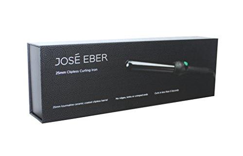 Jose Eber Curling Iron Black 25mm Buy Online In Uae