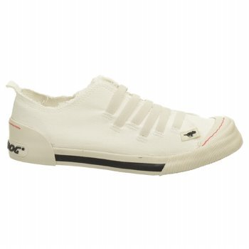 Rocket Dog Womens Joint Fashion Sneakers,Off White Canvas,8