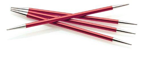 Double Point Knitting Needle, US 2, Stiletto Point, Set of 5 Needles