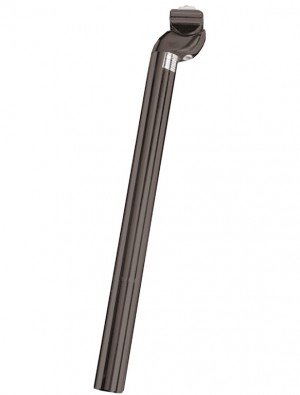 Alu Patentsattelstütze Schwarz (Ausführung: schwarz 27,2 mm Ø 350 mm Länge)