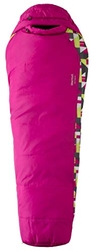 Marmot Unisex Kids' Trestles 30 - Regular Sleeping Bag Lipstick Left Hand