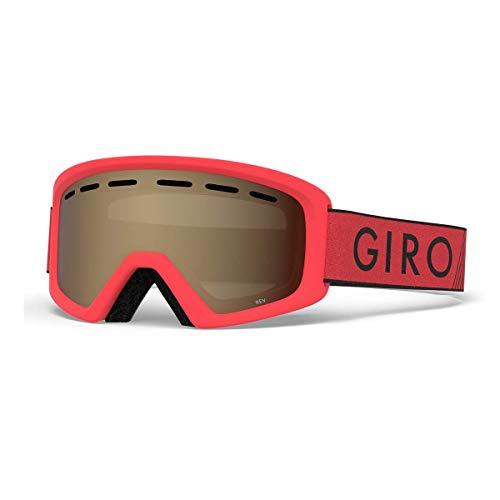 Red Snow Helmets - Giro Rev Kids Snow Goggles Red/Black Zoom - Amber Rose