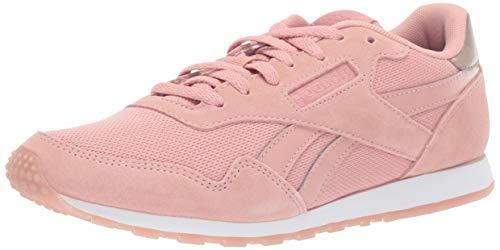 (Reebok Women's Royal Ultra SL Sneaker, Chalk Pink/Rose Gold/White, 9 M US)