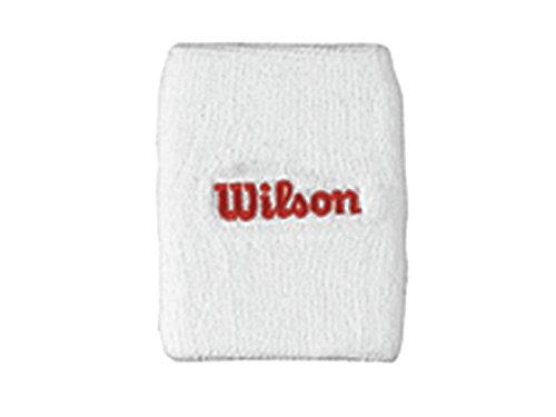 Wilson 2015 Double Wristband White/Red