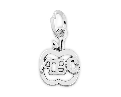 Fundraising For A Cause 10 Apple ABC Charms in a Bag (10 Charms)