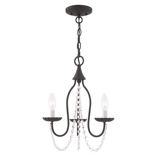 Amazon.com: Livex Lighting 40793-04 Alessia - Mini lámpara ...