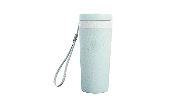 Botella de agua con pajita de trigo de 300 ml, biodegradable, a ...