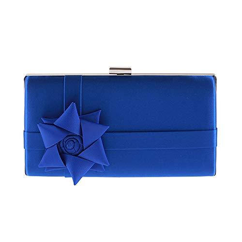feste per Borse donne Argento le Yzibei pratico Blu da da sera Colore per sposa le IHnYwq5