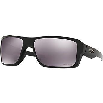 Oakley Herren Sonnenbrille »DOUBLE EDGE OO9380«, schwarz, 938015 - schwarz/schwarz