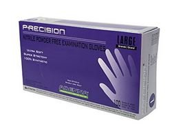 Precision by Adenna Powder-Free Nitrile Examination Gloves, Medium, PCS775, Case of 10 Boxes of 100 Each by Adenna