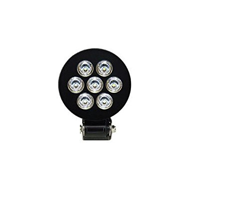 XScorpion ORL-703S Sirius 5-1/4'' 7 LED Off-Road Working/Driving Fog Light-Clear Glass