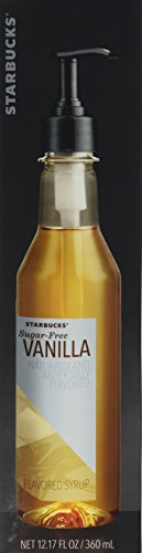 Starbucks Sugar Delivered Vanilla Syrup 12 FL Oz