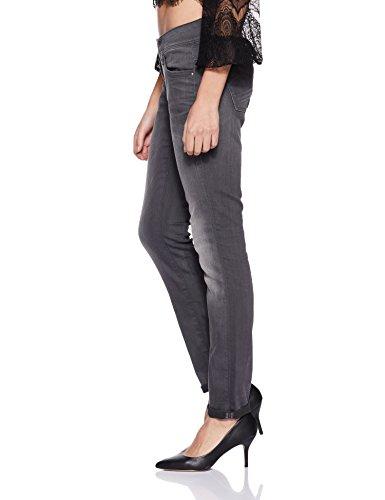 star Cerniera Aged Jeans Raw Grigio G Slander Mid medium 071 6132 Lynn Skinny Superstretch Donna tqd4p74wC