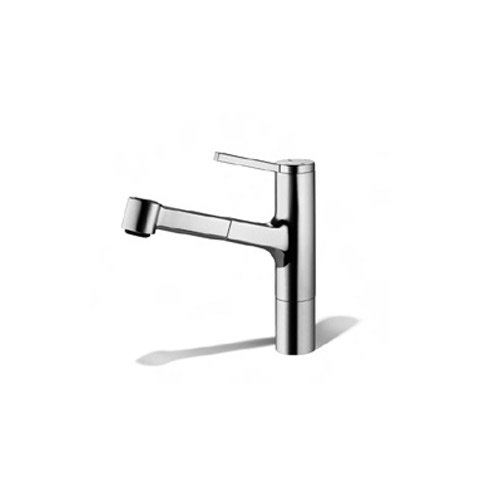 KWC Faucets 10.191.033.127 AVA Pull Out Kitchen Faucet, Splendure Stainless ()